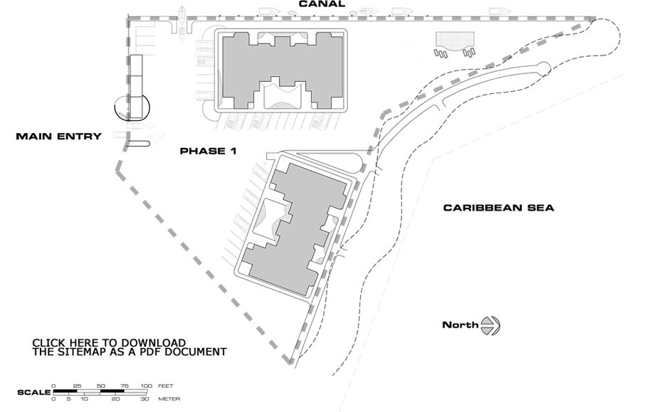 Heritage Point Condos in Belize - Site Plan